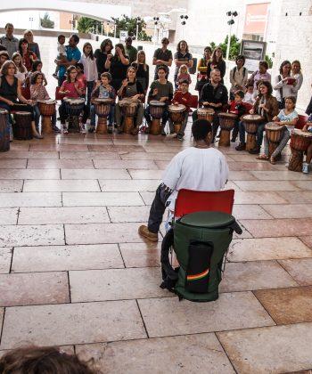 Workshops de Dança e Percussão Tradicional Africana